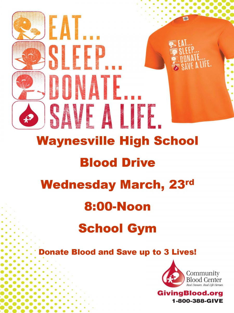 image of a blood drive poster