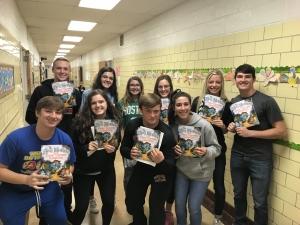 high school readers to 2nd graders