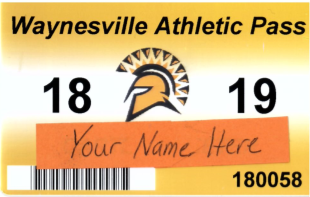 orange athletic pass