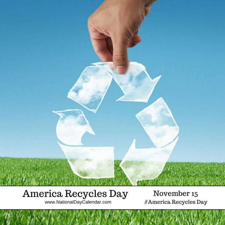 america recycling day