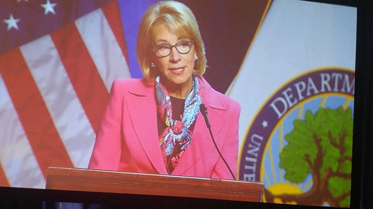 Betsy DeVos - secretary of education