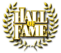 hall of fame gold wreath