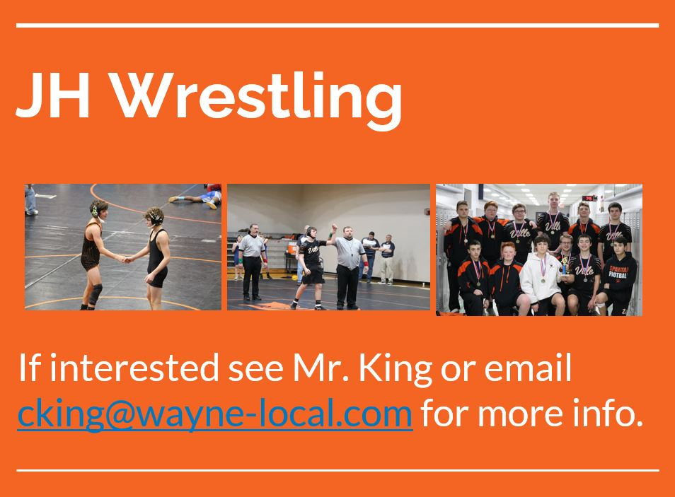 wrestling pictures on an orange background
