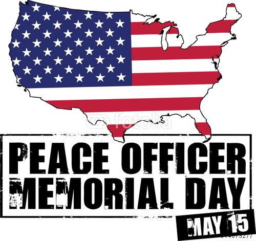 image of peace officer memorial day
