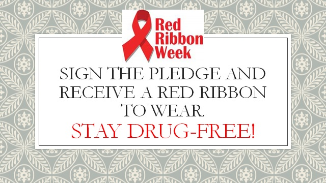 red ribbon image with details