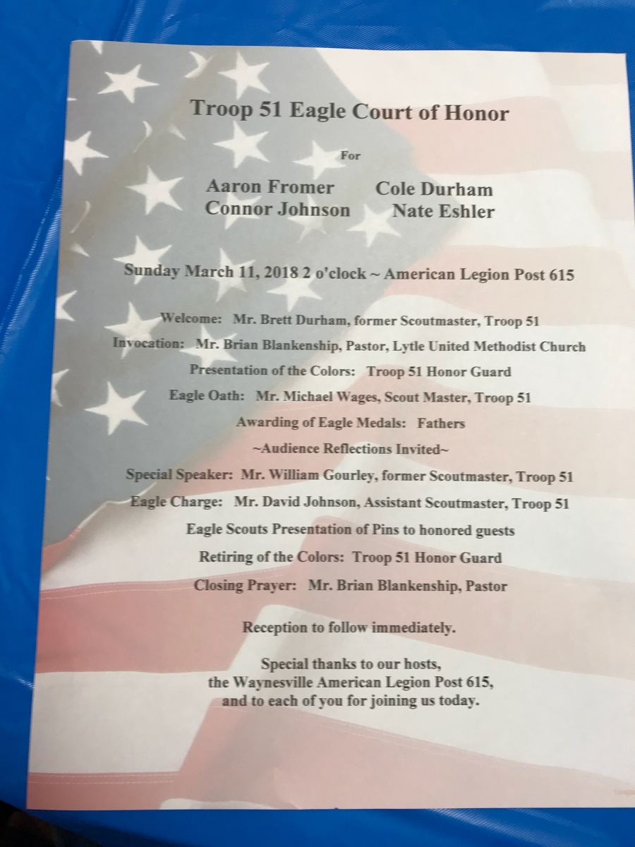 eagle scout awards program