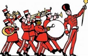 marching band animated figures