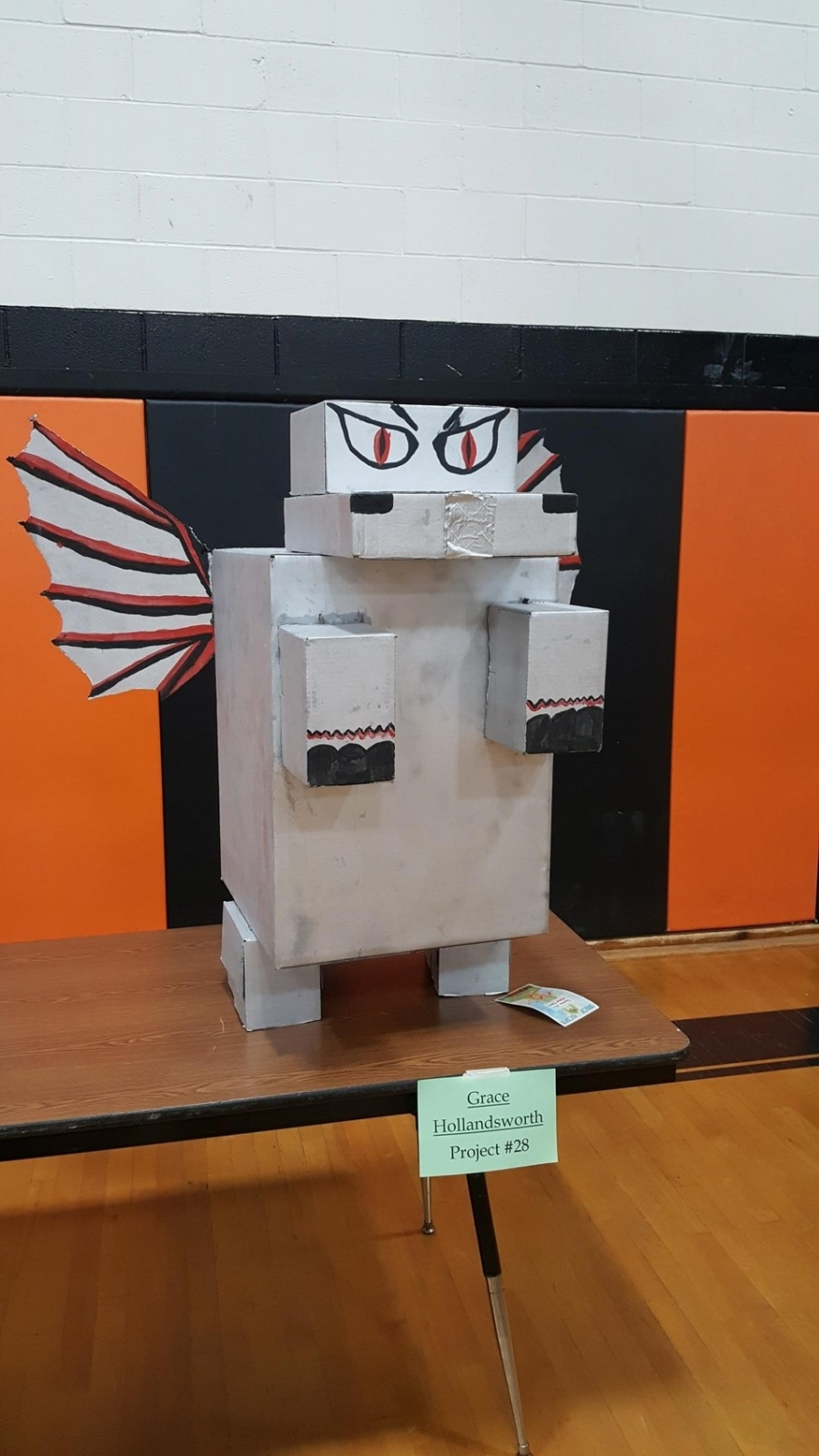 robot made of recycled material