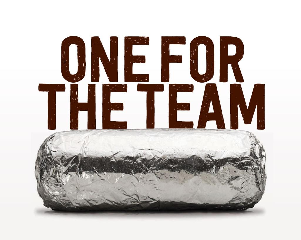 burrito wrapped in foil