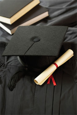 cap and gown image