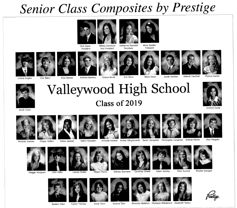 senior class composite photo