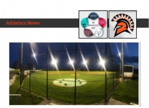 baseball diamond lights image