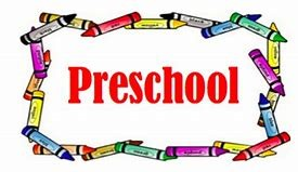 crayons and preschool