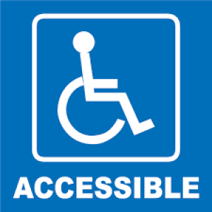 handicapped accessible image