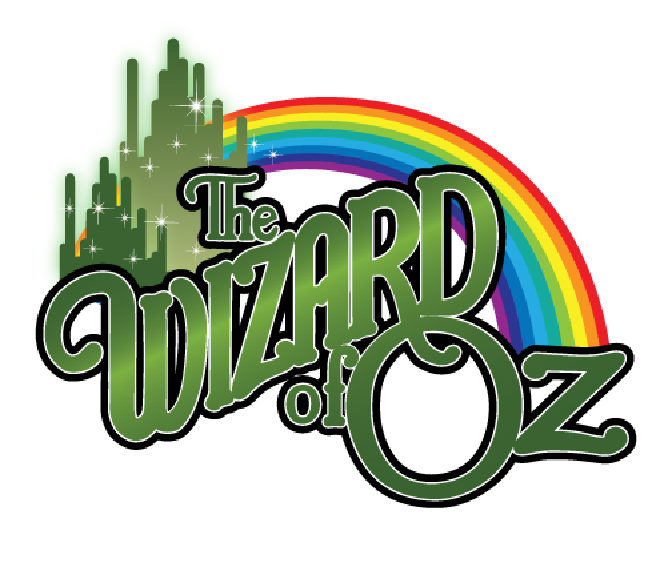 image of the Wizard of OZ and a rainbow