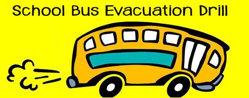 school bus evacuation image
