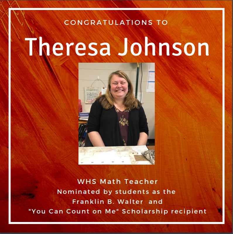 theresa johnson - teacher