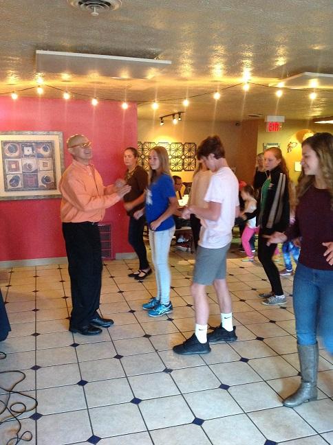 restaurant dancing