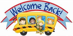 welcome back school bus
