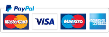 paypal banner with credit cards