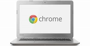 image of a computer chromebook